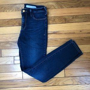 Pilcro & the letterpress Serif Legging denim Jeans